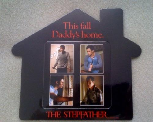 "The movie ""The Stepfather"" - Photo of a magnet I got for the movie ""The Stepfather"""
