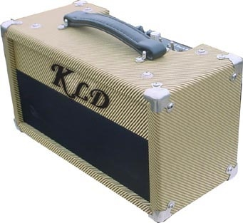 kldguitar Gt5HR - Class A SE 6L6 tube guitar amp head with spring reverb DI out