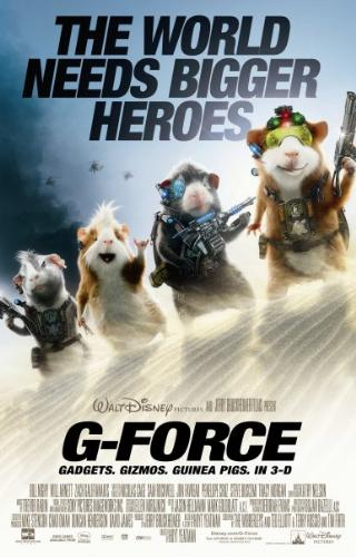 G-Force Movie - The world needs bigger heroes.