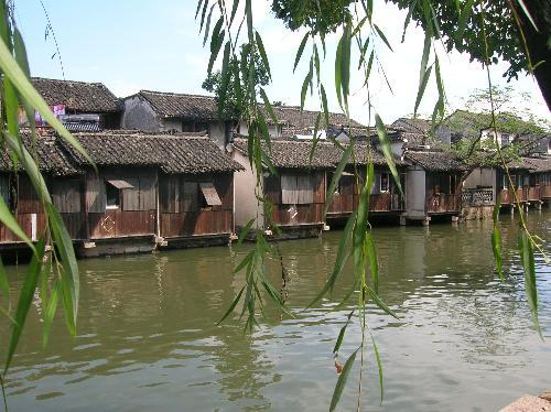 nature - Village near the river