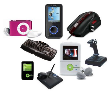 Picture of all sorts of gadgets - Is our life to be dependent on these gadgets? Would life be hard without these gadgets?