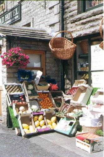 fruit and vegetable shop - The image of a fruit and vegetable shop