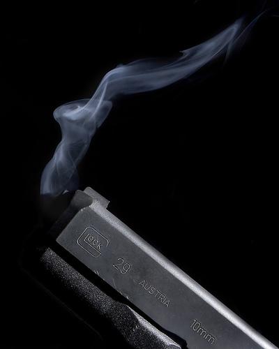 Gun - Smoking,gun,glock,10mm