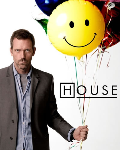 House MD - If we could only all be as happpy as House MD.