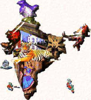 India - Cultural map of India...