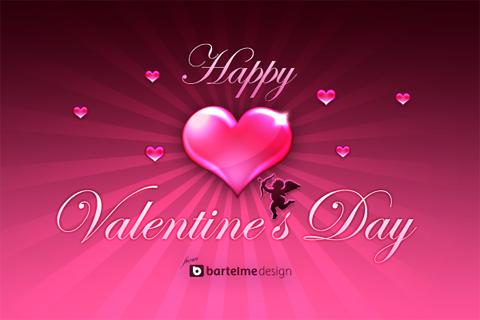 Valentine's Day - Valentine's Day on Feb 14