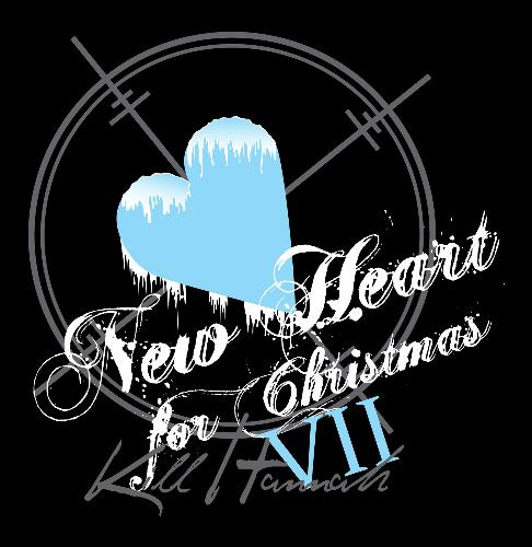 New Heart for Christmas 7 T-shirt - This is the (winning) design I submitted for the shirt Mat Devine will wear the first night of New Heart for Christmas 7!