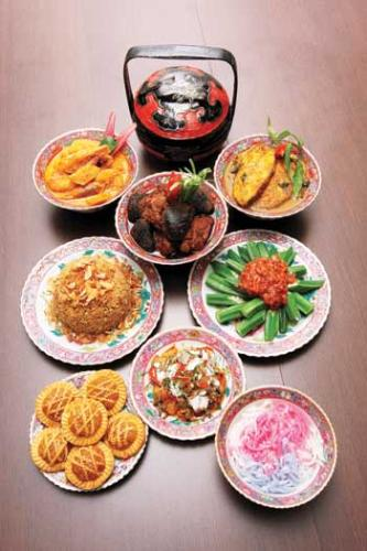 Nyonya Food - this photo is take from google website...