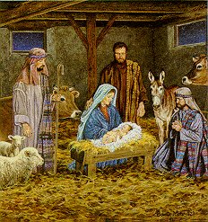 The Nativity - Merry Christmas Everyone. God bless.