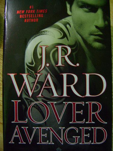Lover Avenged - cover of the latest installment in the Black Dagger Brotherhood series...