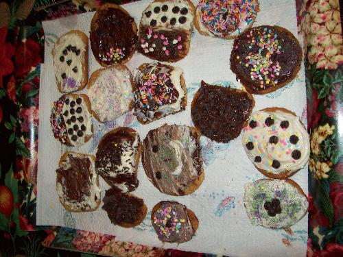 Cookies - My granddaughters culinary works of art.
