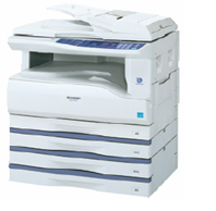 Ar-5516 sharp digital copier - This is the ar-5516 model of sharp copier...Multifunction and digital...It is capable of printing and scanning....