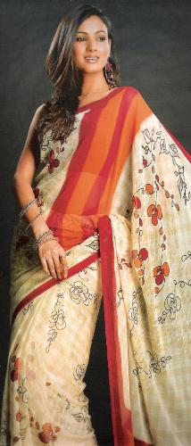 The graceful saree - It is no longer worn the way it should. Now one can see all contours