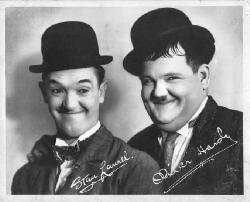Laurel and Hardy - Stan Laurel and Oliver Hardy
