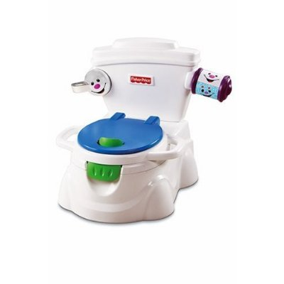 Fisher Price potty - This is an incredible Fisher Price Learn to Potty chair. It is fun and plays music when there is something in the bowl. It even spins tissue off the roll.