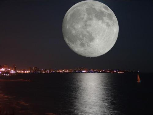 The beautiful moon - Life on the moon!