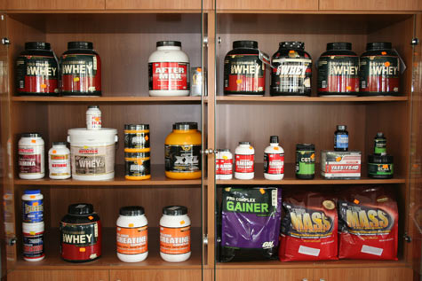 supplements - all types of supplements for body building..
