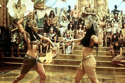 the mummy returns - fight scene