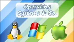 operating system - This are the operating system platforms that use to run a computer