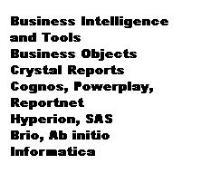 BI tools