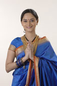 Indian greeting - Namaste is a healthy way of greeting.