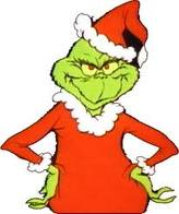 Grinch - Sometimes I feel like the Grinch at christmas time.