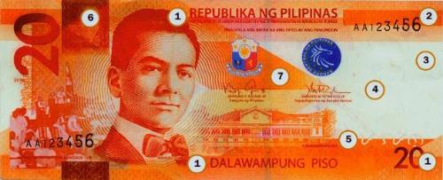 New face of 20 peso bill - This money is released late December 2010