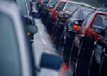 I hate traffic jam - When there are too many car stuck on a narrow road, traffic jam happen. And I hate to stuck in traffic jam, it waste my time.