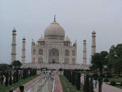 Taj Mahal - The Taj in all its splendour and beauty...