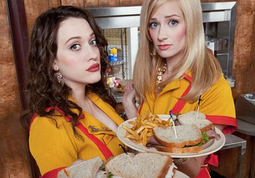 2 broke girls - funnies show ever!