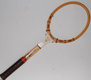 big sale 3bd12 69d73 Most of my tennis was played in wooden racket era / myLot