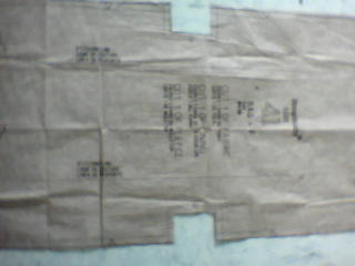 the pattern I am sewing - pattern I am confused with