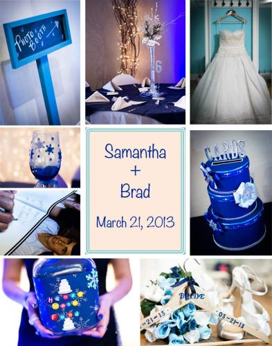 The Smaller Details That Went Into The Wedding... - The details that my sister and I did together. =)