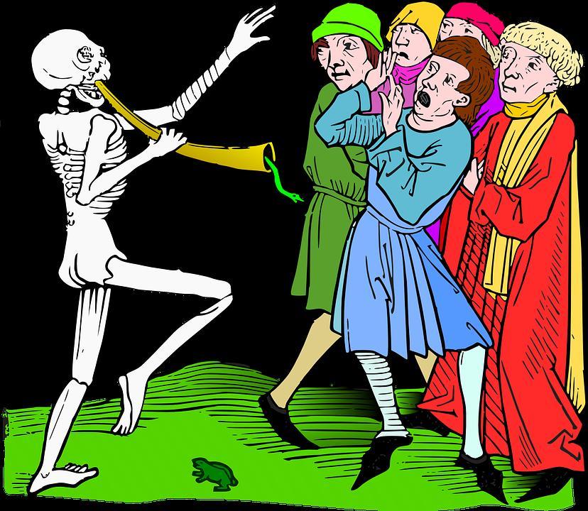 macabre art about death