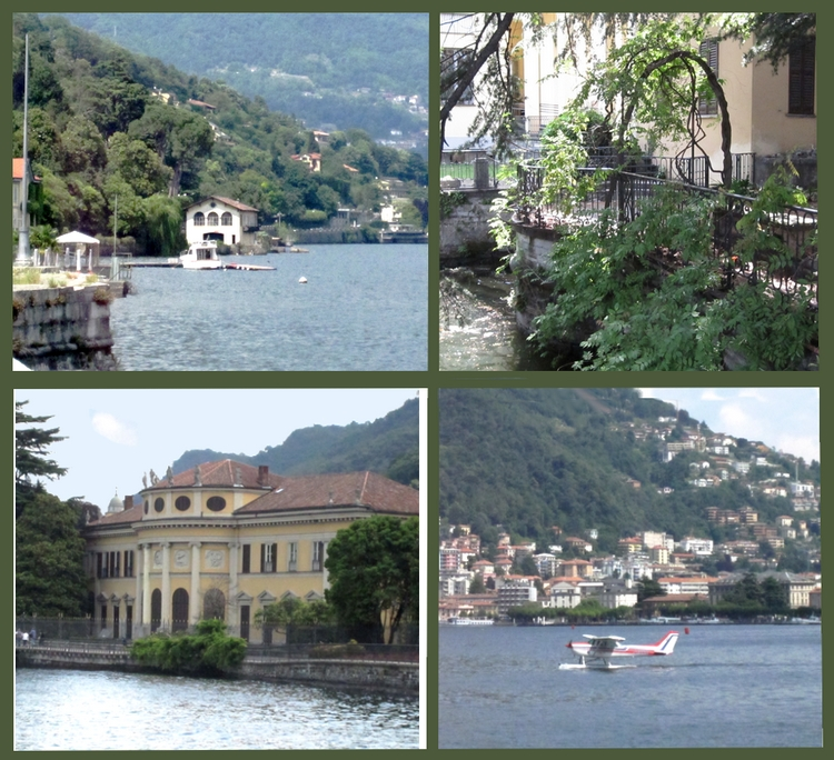 The lake of Como, photos by LadyDuck