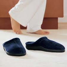 Do you wear slippers inside the house
