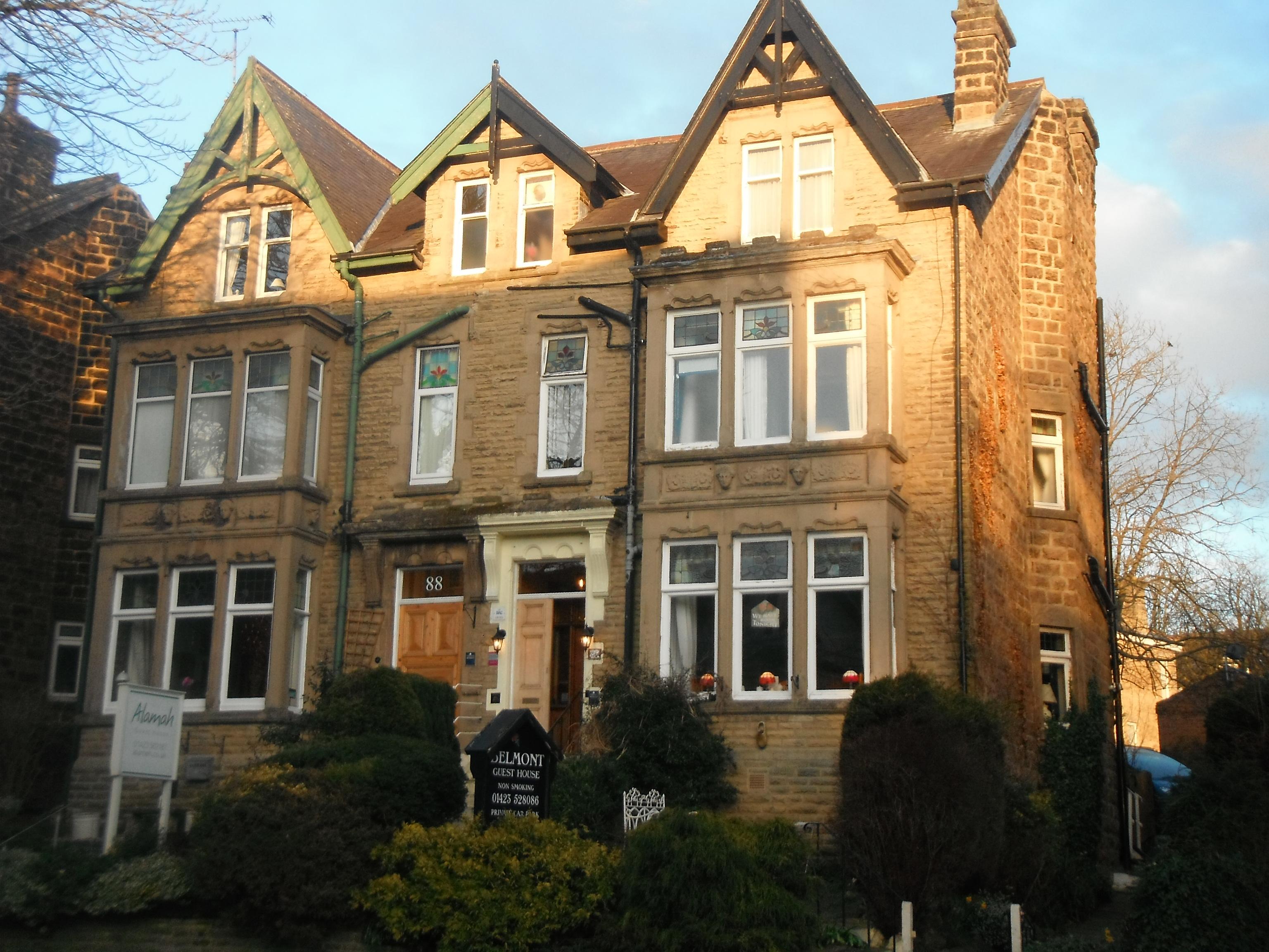 Photo taken by me – The Belmont Guest House, Harrogate