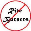 No Rice! - I should stop eating rice.  I'll make this a habit.