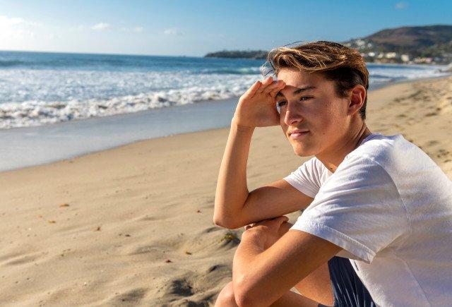 Gavin Pike is the hero of Laguna Beach
