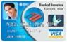debit card - this is a bank of america debit card