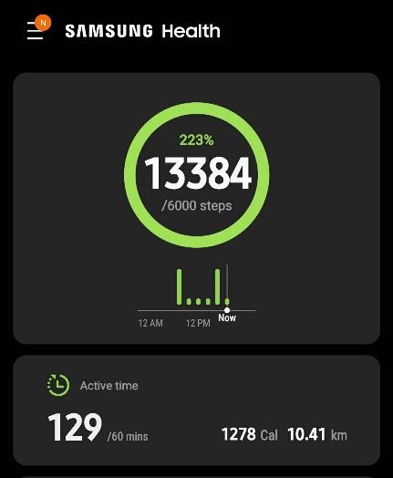 Wednesday walking exercise