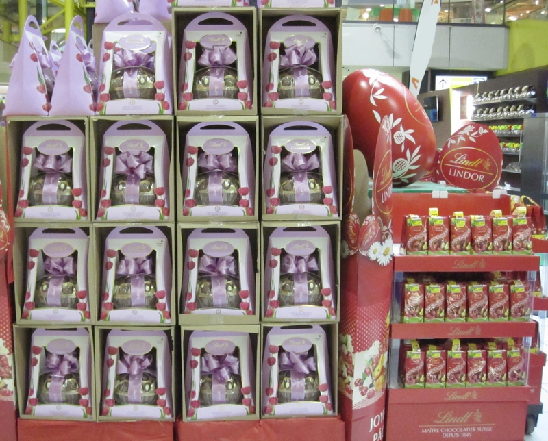 Lindt chocolates at the Mall by LadyDuck