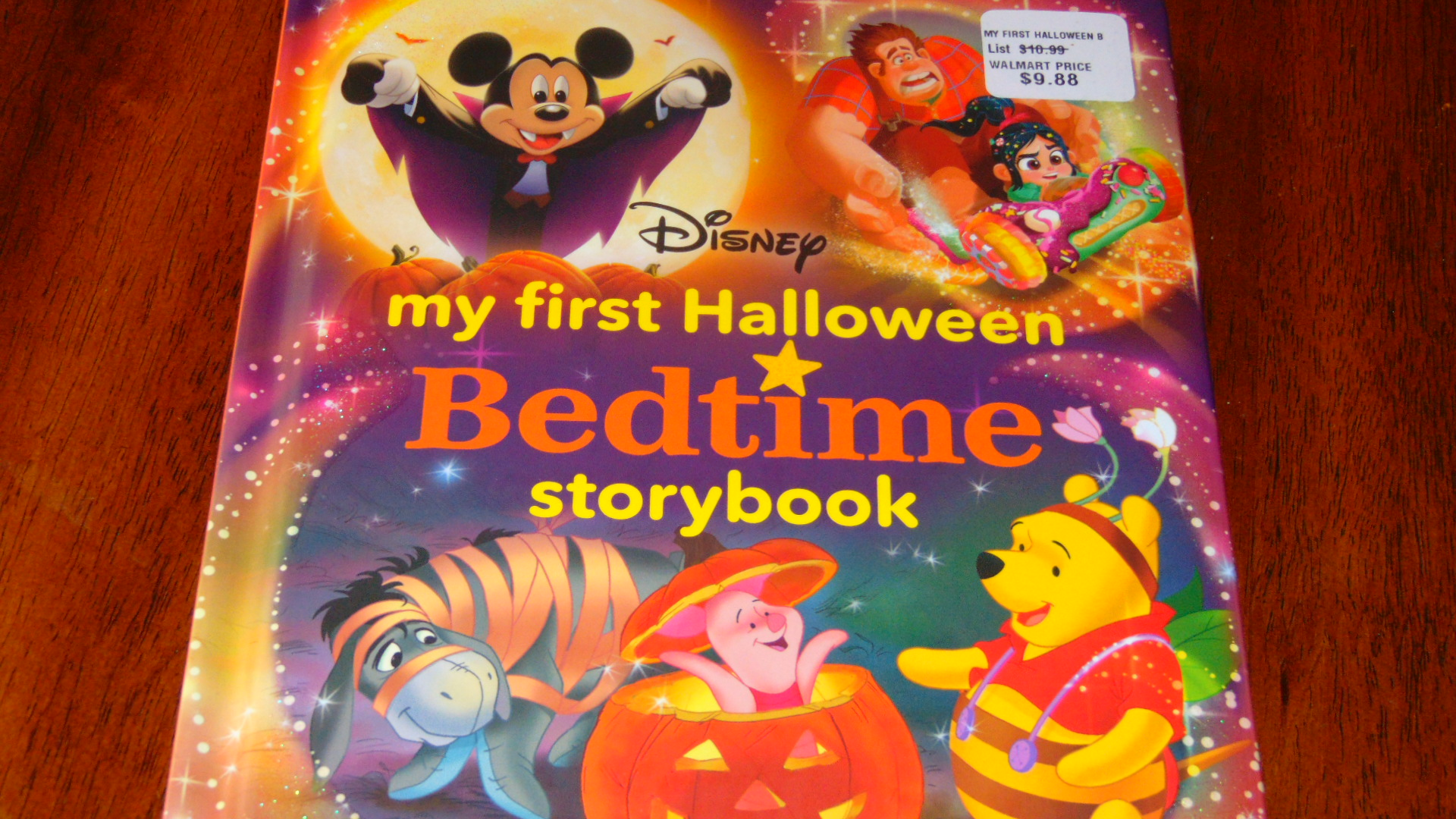 Halloween story book.