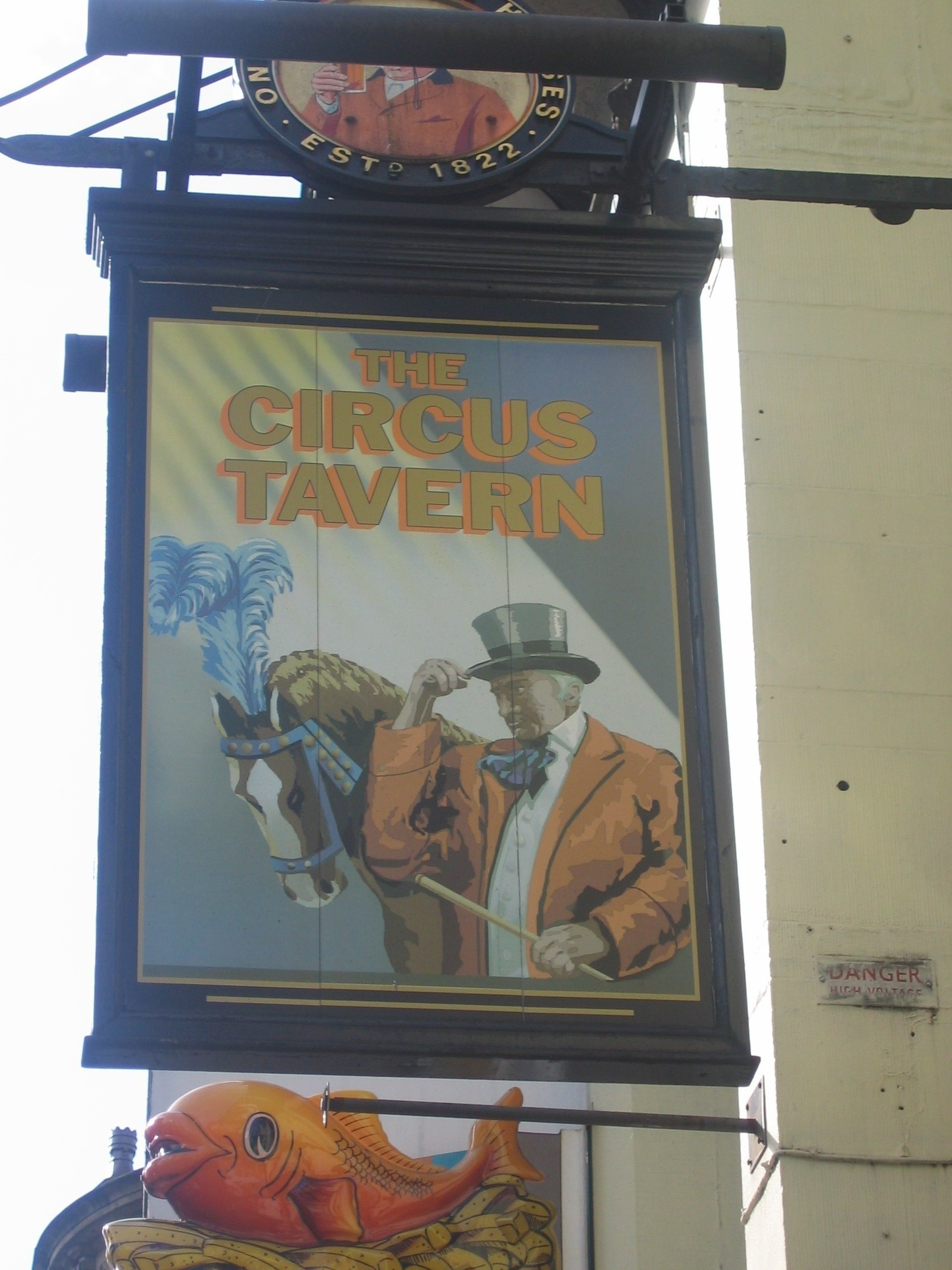 photo taken by me - one of the pubs in my book, The Circus Tavern, Manchester