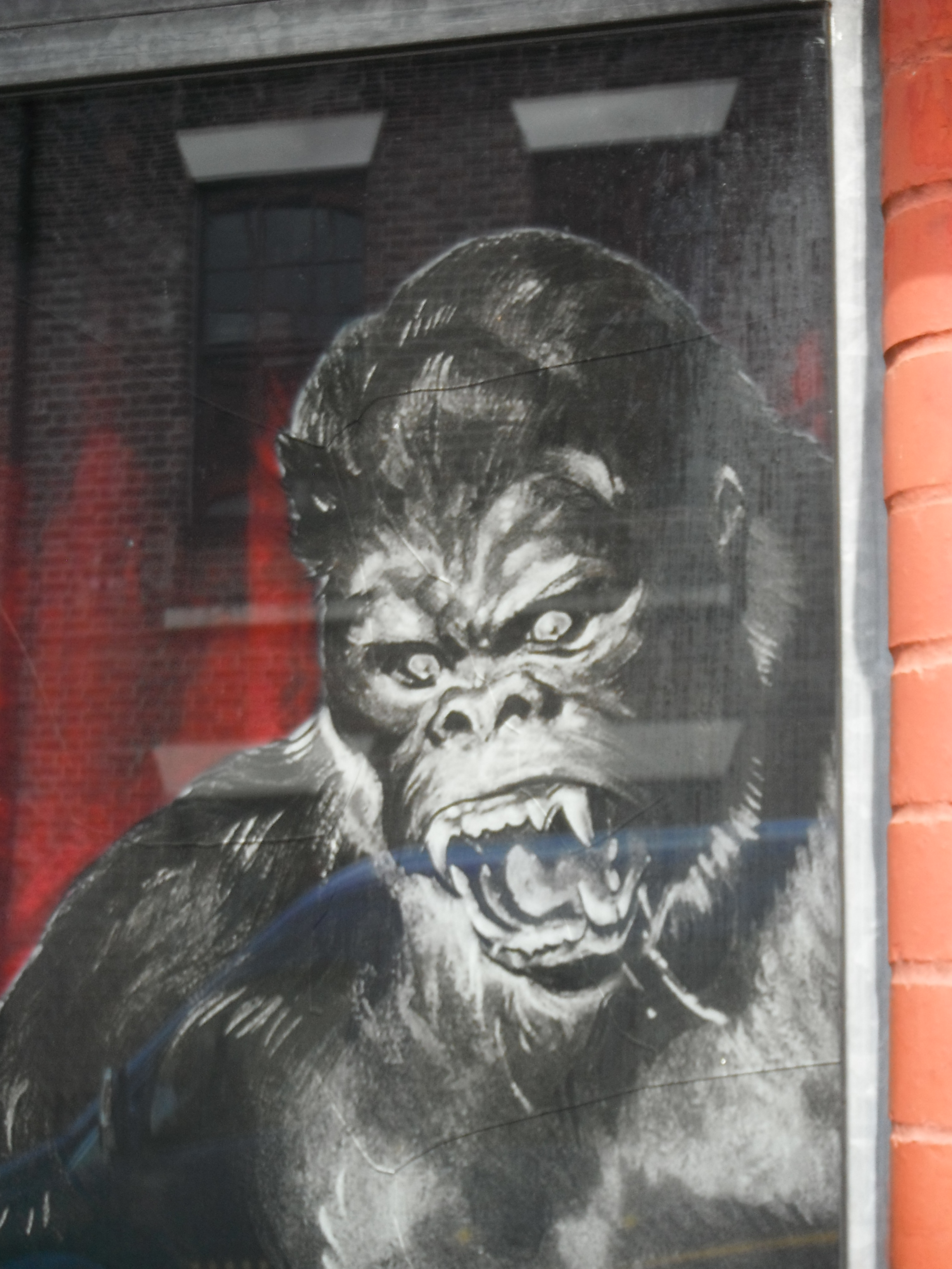 Photo taken by me - King Kong in Liverpool