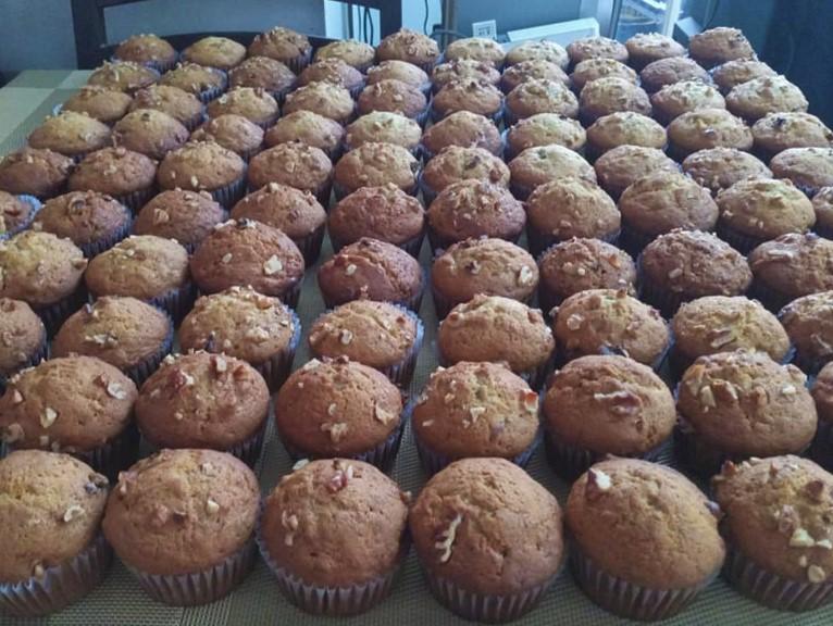 my banana muffin army