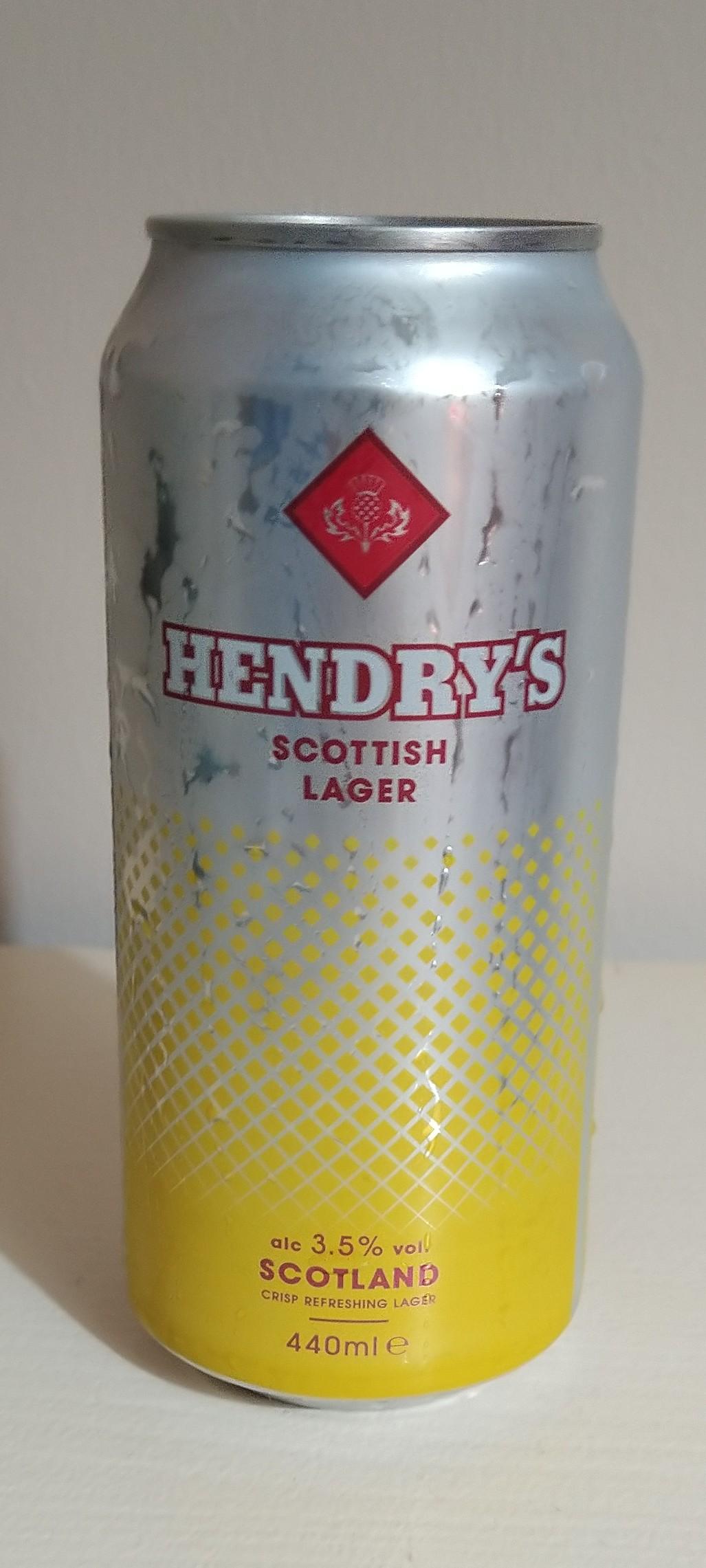 Henry's Scottish Lager