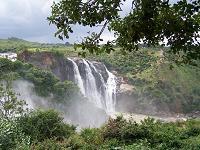 Water fall at Shimsha, Karnataka, India - Photographed at Shimsha, Karnataka, India