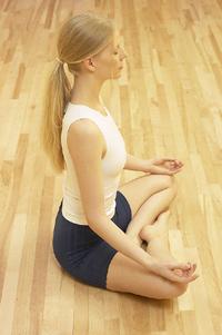 meditation - lady meditating
