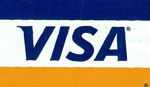 credit card - visa card